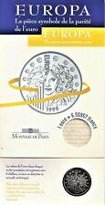 Frankrijk: 1 euro = 6,55957 francs  1999 BU, in originele verpakking
