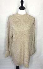 Isabel Maternity Pullover Sweater XXL Beige Silver
