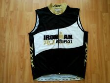 Zoot Ironman 70.3 Budapest Men's Windstopper Vest/Gilet Size: 2XL RARE!
