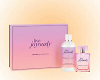 Philosophy Live Joyously Gift Set - EDP 2 OZ + Body Lotion 8 OZ. New In Gift Box
