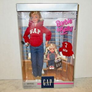 Barbie & Kelly doll gift set MIB GAP special edition new in box 1997 clothes