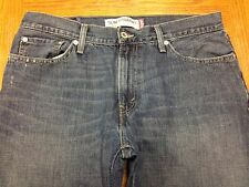 LEVIS 514 SLIM STRAIGHT MEN'S JEANS HAND MEASURED SIZE 34 x 32 GUC BEST X28