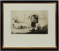 Sidney Tushingham ARE (1884-1968) - Early 20th Century Etching, To Market