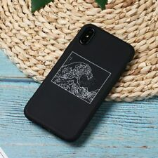 The Great Wave off Kanagawa Back Cover Soft Phone Case Fundas For 7Plus