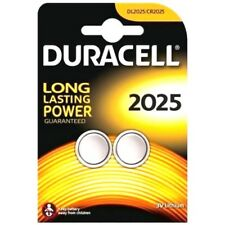 2 x DURACELL CR2025 3V LITHIUM COIN CELL BATTERY DL 2025 BR2025 1 PACK OF 2 NEW