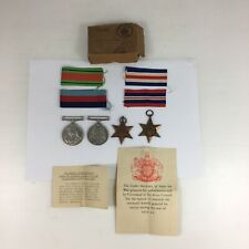 Boxed WW2 Second World War Medal Group 1939-45 France & Germany Star Etc