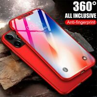 Full Body Ultra Slim Shock Proof Hybrid 360 Case Cover For Apple iPhone 11