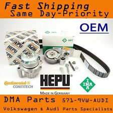 VW FSI MK5 Jetta GTI Passat Timing Belt Kit Meta Water Pump 2.0T 2.0 Turbo 2006+