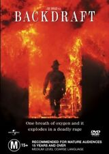 BACKDRAFT (REGION 4 DVD) *New & Sealed* 🎬