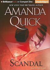 AMANDA QUICK 10 DISC AUDIO BOOK SCANDAL