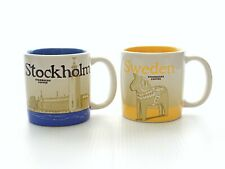 More details for starbucks global icon collector series set of two demitasse sweden stockholm cup