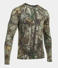 Under Armour Threadborne Early Season Forest Camo Long Sleeve Shirt Sz XL