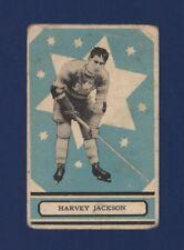 1933-34 OPC V304A Harvey Jackson (RC) #33 Good Toronto Maple Leafs (HOF) LOOK !