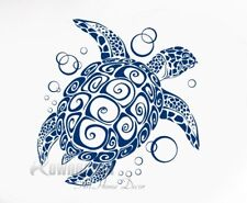 Sea Turtle Bubble Wall Sticker Ocean Sea Home Decor Vinyl Adhesive Wall Decals