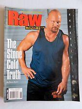 WWE RAW Wrestling Magazine Stone Cold Steve Austin wrestler Feb 2003