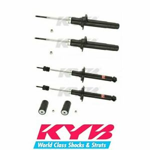 KYB Excel-G Front & Rear Shock Absorbers For Honda Accord 98-02 - 341257 341258