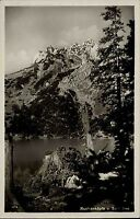AK um 1935 Bayern Alpen Berge Ruchenköpfe Soin-See Gebirgskartenverlag Triem