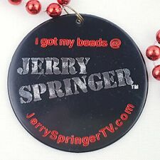 Jerry Springer Beads Red Collectible Reality TV Celebrity Live Show Costume
