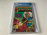 MARVEL PREMIERE 61 CGC 9.6 WHITE PAGES STARLORD PLANET STORY MARVEL COMICS 1981