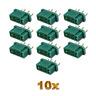 10 Stück MPX Hochstromstecker Stecker Buchsen Female Multiplex Style 6 Polig M6