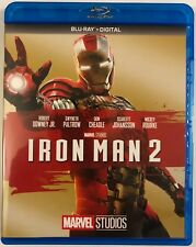 MARVEL IRON MAN 2 BLU RAY FREE WORLD WIDE SHIPPING BUY IT NOW ROBERT DOWNEY JR