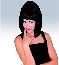 STARLET WIG RUBIES NIP, FLAPPER, 1950'S, BLACK / FRENCH MAID/ NAUGHTY! pulp fict