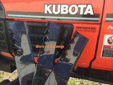 "3 60"" Gator blades for RCK60B-75B mowers on Kubota B7510 tractors"