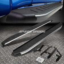 FOR 13-17 SANTA FE SUV 5.75' METALLIC/BLACK SIDE STEP BAR NERF RUNNING BOARDS