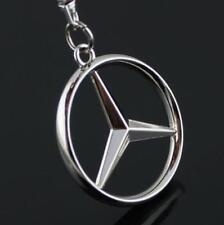 For Mercedes Benz Keyring Chain auto Car Logo Titanium Keyring Keychain Key Gift