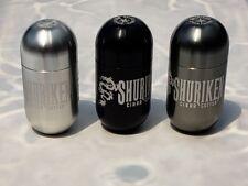 Shuriken Cigar Cutter CHARCOAL Aluminium featuring i-Draw Technology ($ reduced)