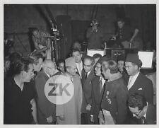 ROI MOHAMMED V Maroc DeMille Charlton HESTON Quinn Boyer Tournage Photo 1958