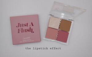 Colourpop - Just A Flush Quad Cheek Palette # Blusher # Bronzer # Highlighter