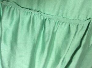 Monsoon, light sage green, boho, festival, maxi skirt. Size 22. Pre loved