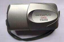 Olympus CAMEDIA 350 Zoom 3.2MP Digital Camera - Silver with Case