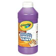 Crayola Washable Fingerpaint Violet 16 oz 551316040