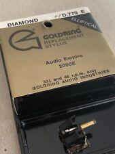 Goldring D 789 SR Turntable Record Player Stylus Audio Empire 2000E
