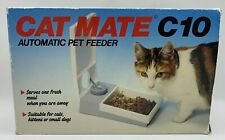 Cat Mate C10 Automatic Pet Feeder Dog Cat Programmable 1 Meal Food Dispenser