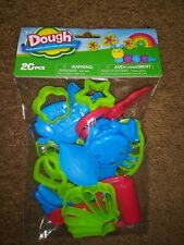 Dough Tools Set Kit Clay Play Doh Molds Cutting Mould Crafts New in Package 20pc