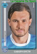 145 HUSZTI HUNGARY FK.ZENIT CHANGCHUN YATAI.FC STICKER PANINI RUSSIA LEAGUE 2012