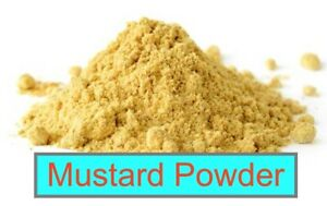 MUSTARD POWDER 1 oz. - 14 oz., Dry Mustard Seed Powder