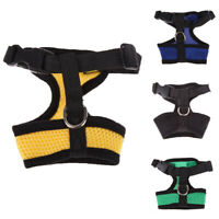 Nylon Pet Puppy Soft Mesh Dog Harness Strap Vest Collar for Small Medium-sized B