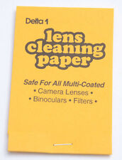 Delta 1 Lens Cleaning Tissue Cleaning Paper #25530 Pack - NEW S2