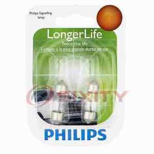 Philips Courtesy Light Bulb for Isuzu Pickup Trooper 1988-1995 Electrical ul