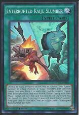 1x Yugioh BOSH-EN089 Interrupted Kaiju Slumber Super Rare Card