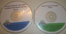 2700 printable preschool Educational Games and Science Curriculum 2 Disc CD-R Se