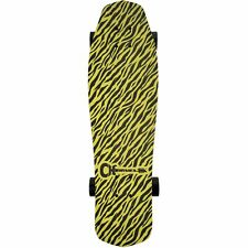 Charvel Yellow Bengal Skateboard by Aluminati Skateboards