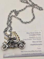 Collana Ciondolo Moto Harley Davidson Argento Bikers I Gioielli di Vicky