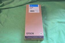 Epson Pro 9000  T410 T4100 Cyan Ink 220ml Genuine Origianl Date 2014