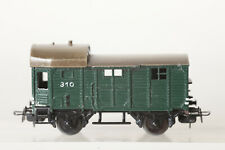 Märklin H0 310 Luggage Car Freight Escort Wagon Cast Green (137575)