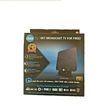 ClearTV Flat Indoor Amplified HDTV Antenna